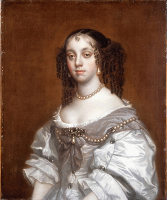 Queen Catherine of Braganza (1638 - 1705), Studio of Sir Peter Lely
