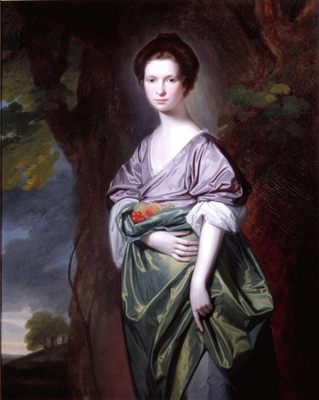 Portrait of Mrs James Fletcher (nee Fell), George Romney