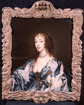 Queen Henrietta Maria (1609-1669), Circle of Sir Anthony Van Dyck