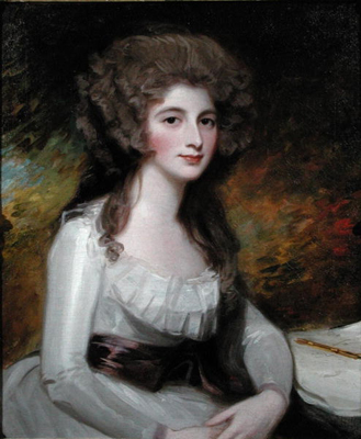 Portrait of an Unknown Lady, previously called Mrs Tickell, nee Ley (1756 - 1787), George Romney
