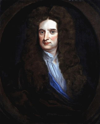 Portrait of Sir Isaac Newton (1642-1727), After Sir Godfrey Kneller Bt