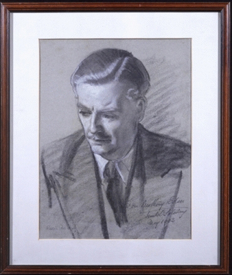 The Rt. Hon Anthony Eden Earl of Avon (1897-1977), Frank O. Salisbury RA