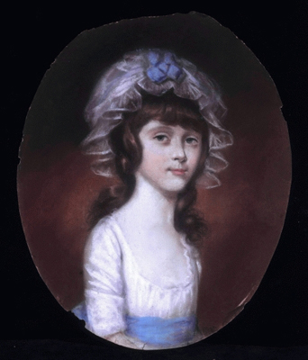 Portrait of a Girl of the Basset Family, c.1785, Sir Thomas Lawrence PRA