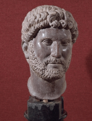 Bust of the Emperor Hadrian (76-138 A.D.),  Eighteenth Century after the Antique
