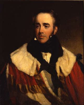 Portrait of Jocelyn Third Earl of Roden, Frederick Say