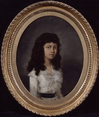 Portrait of a Goanese Girl 1780s, Thomas Hickey