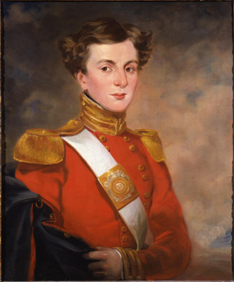 Portrait of Ensign Henchman Birch of the 31st Regiment of Foot,  English School