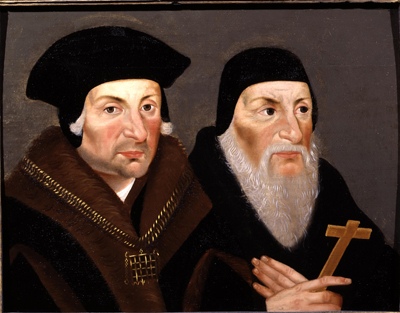 Sir Thomas More and Bishop John Fisher,  English School