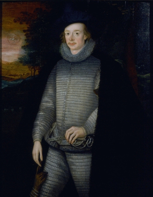 Portrait of John Braddyll of Portfield and Whalley (1557-1616), Attributed to Robert Peake