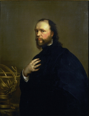 Portrait of Sir Kenelm Digby (1603-65), 1650s, after Sir Anthony Van Dyck (1599-1641), Attributed to Henry Stone