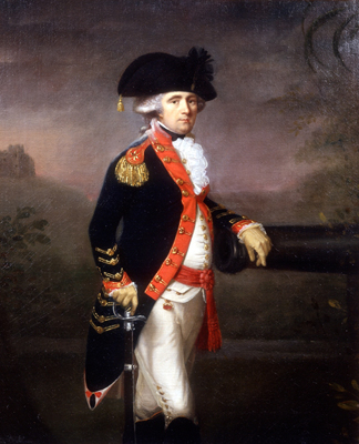 Portrait of an Officer of the Bengal Artillery, Thomas Hickey