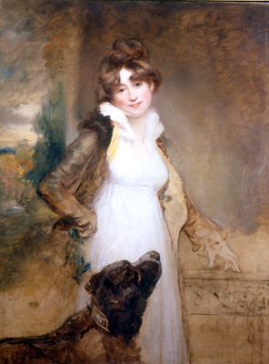 Portrait of a Lady, Arthur William Devis
