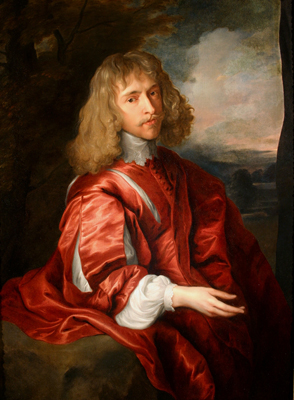 Portrait of Robert Dormer, 1st Earl of Carnarvon, Studio of Sir Anthony Van Dyck