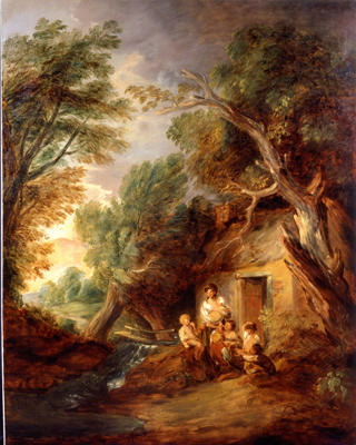 The Cottage Door Thomas Gainsborough RA & Philip Mould | Historical Portraits | The Cottage Door | Thomas ...