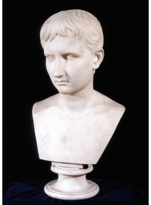 ''The Young Octavian'' Bust of the Emperor Augustus (63BC-14AD), Antonio Canova, Studio of