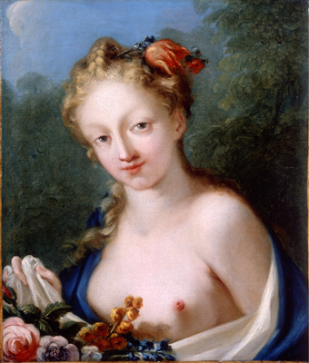 Portrait of the Goddess Flora, Giovanni Antonio Pellegrini