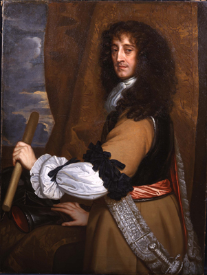 Portrait of Prince Rupert of the Rhine (1619-1682), Sir Peter Lely