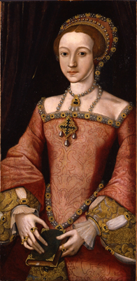 Elizabeth I when a Princess, 1547-58,  Anglo-Italian School