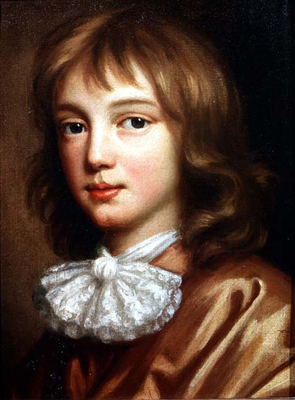Portrait of the Artist's son, Mary Beale