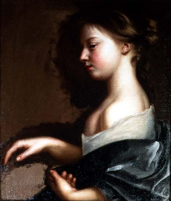 Portrait of a young girl, c. 1681, Mary Beale