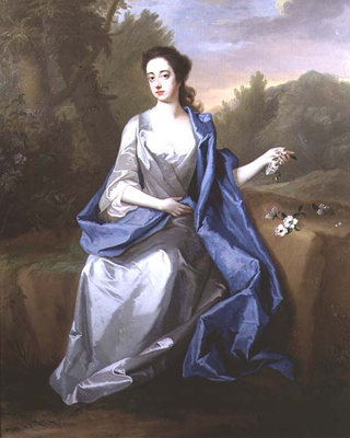 Portrait of a lady, thought to be Elizabeth, Duchess of Beaufort, c.1715, Michael Dahl