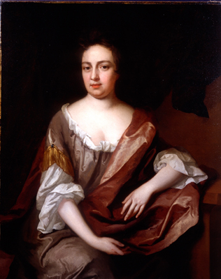 Porrtrait of Admiral Sir John Berry's sister, believed to be Elizabeth Smith c.1689, Michael Dahl
