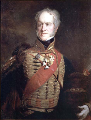 Portrait of 1st Marquess of Anglesey and 2nd Earl of Uxbridge 1768 - 1854, John Prescott Knight