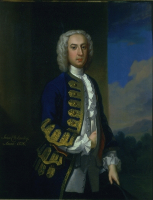 Portrait of John Cholmeley (d.1768), Enoch Seeman
