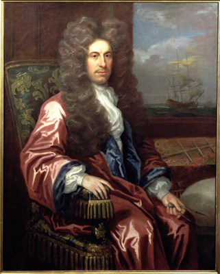 Portrait of Charles Calvert, 3rd Lord Baltimore 1647 - 1715, Governor of Maryland, John Closterman