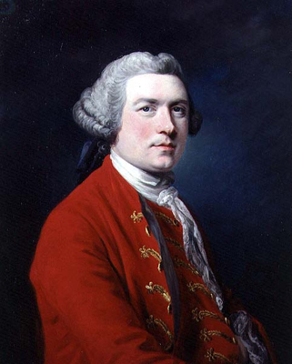 Portrait of Sir James Napier, Francis Cotes