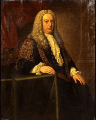 Portrait of the first Earl of Shannon (1686-1764), Stephen Slaughter