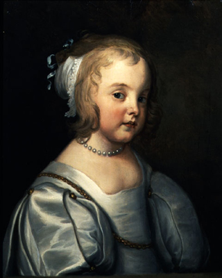 Portrait of a young Girl, Circle of Sir Anthony Van Dyck