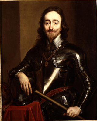 Portrait of King Charles I (1600-49), Studio of Sir Anthony Van Dyck