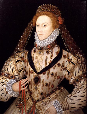 Portrait of Elizabeth I,  English School