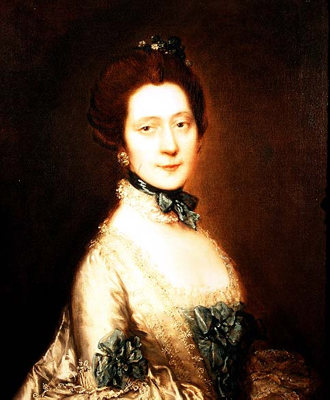 Portrait of Anne Greenly, Thomas Gainsborough RA
