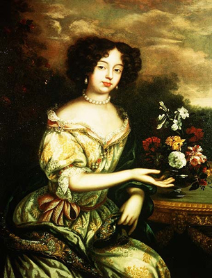 Portrait of Louise Rennee Kerouaille, Duchess of Portsmouth, c.1670, Henri Gascars