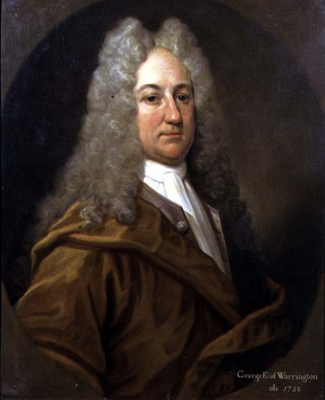 Portrait of George Booth, 2nd Earl of Warrington 1675 - 1758, who wrote a famous pamphlet on divorce, William Hoare of Bath