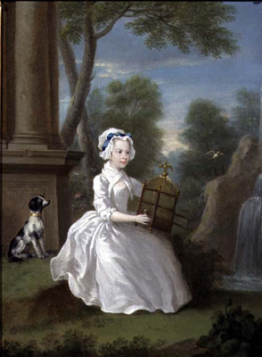 Portrait of a young Lady of the Stamford Family, William Hogarth