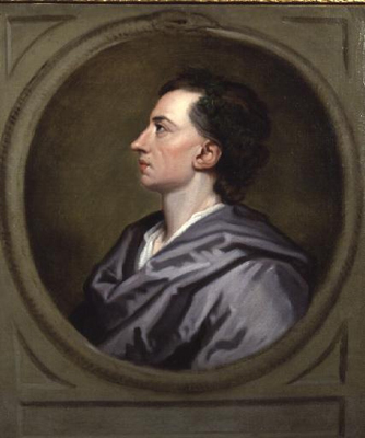 Portrait of Alexander Pope 1688 - 1744, Studio of Sir Godfrey Kneller Bt