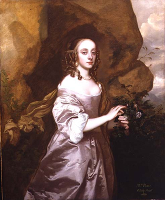 Portrait of Mrs Rous, Sir Peter Lely