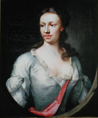 Portrait of a Lady of the Dormer Family, Thomas Frye