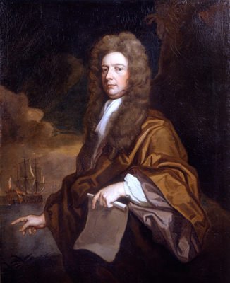 Portrait of Sir William Robinson Bt, c.1693, Studio of Sir Godfrey Kneller Bt