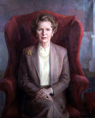 Baroness Margaret Thatcher as Prime Minister, June Mendoza