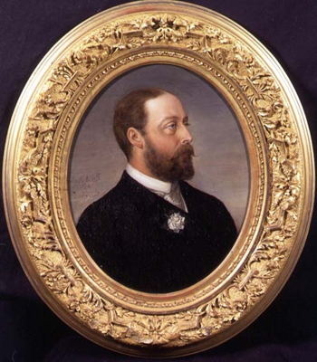 Portrait of Albert Edward, Prince of Wales, later Edward VII 1841 - 1910, Robert Antoine Muller