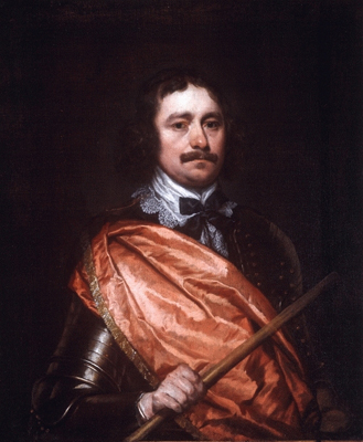 Portrait of a Royalist Commander, William Dobson