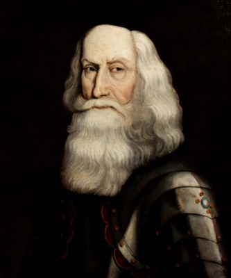 Portrait of General Thomas Dalyell (1599-1685), Commander in Chief in Scotland, David Paton