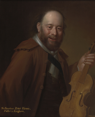 Patie Birnie, the Fiddler of Kinghorn, William Aikman (1682-1731)