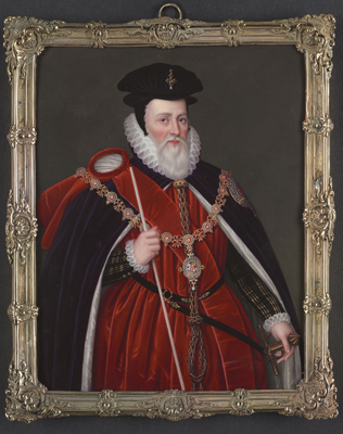 William Cecil, Lord Burghley (1520-1598), after Marcus Gheeraerts (1561/2-1636), Henry Bone RA