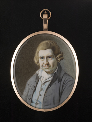 Portrait miniature of William Aiton (1731-93), Richard Collins