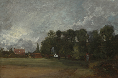 View of East Bergholt House, John Constable